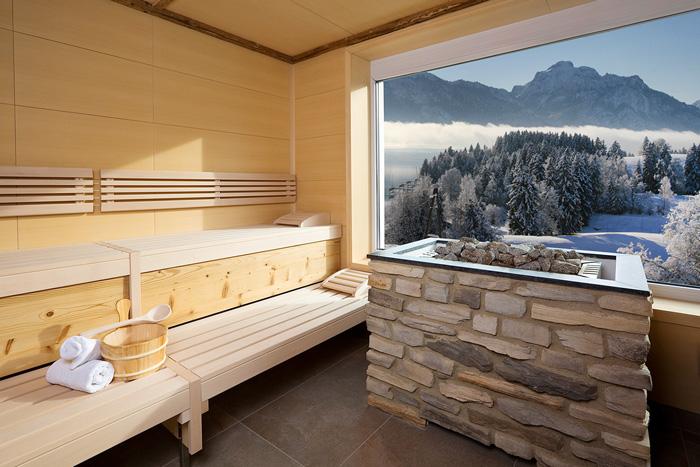 Sauna und Wellnesslandschaften Allgäu